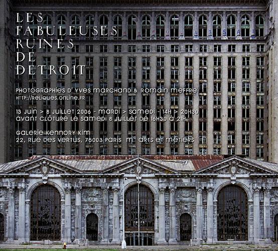 Les fabuleuses ruines de Detroit